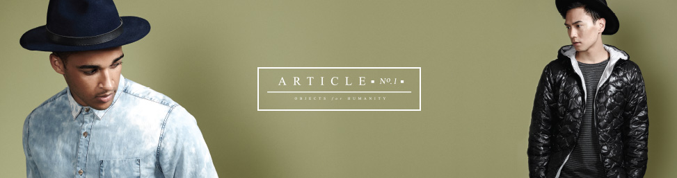 Article No. 1 clothing online at Glue Store