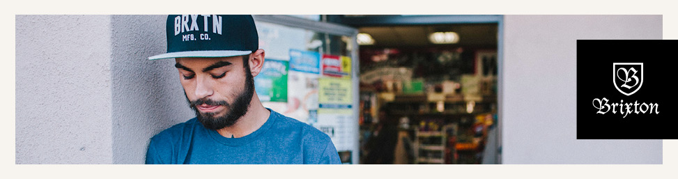 Brixton hats and caps online at Glue Store