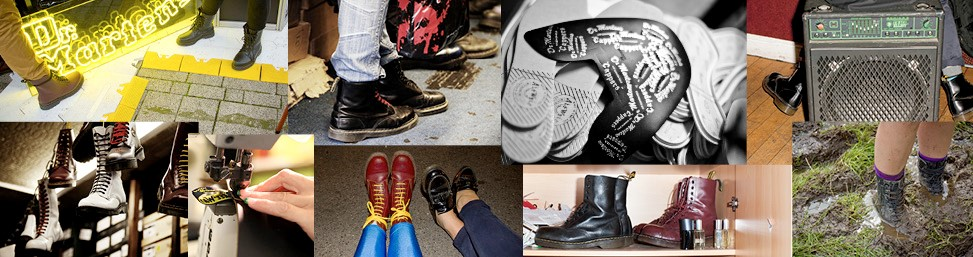 Dr Marten Boots online at Glue Store