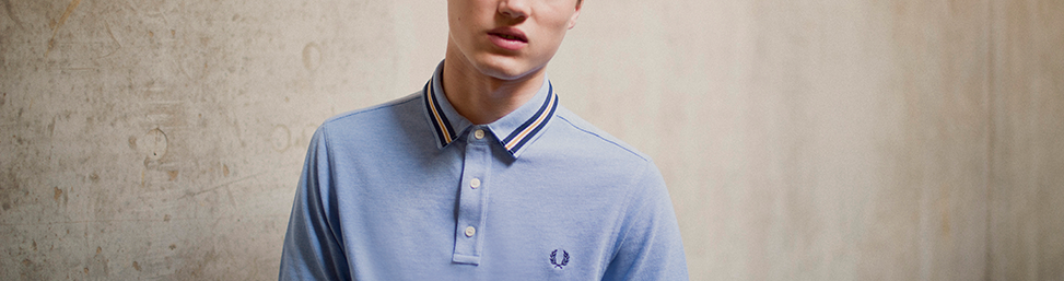 Fred Perry Polo's and Tennis Shoes online at Glue Store