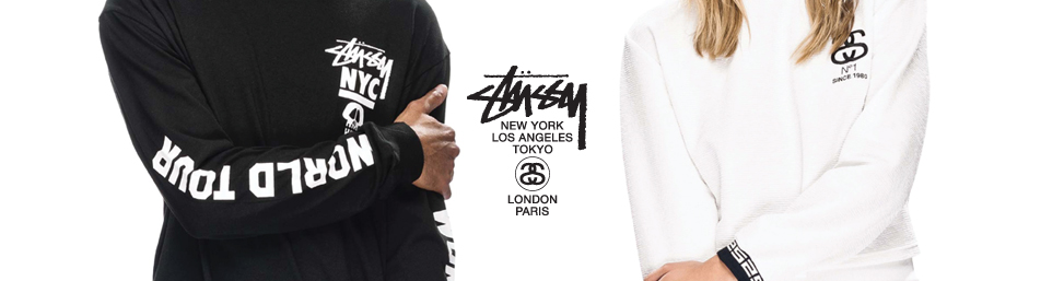 Stussy clothing and accessories online at Glue Store