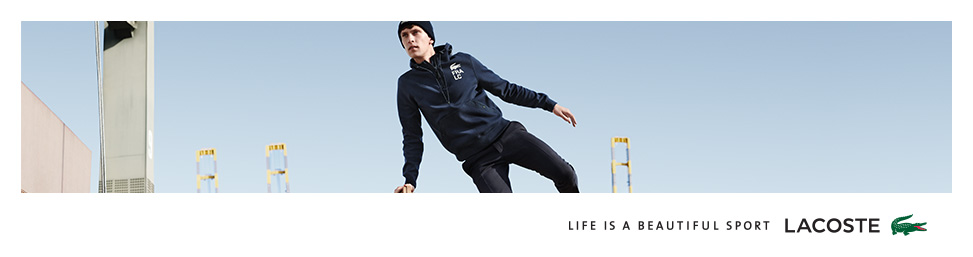 Lacoste online at Glue Store