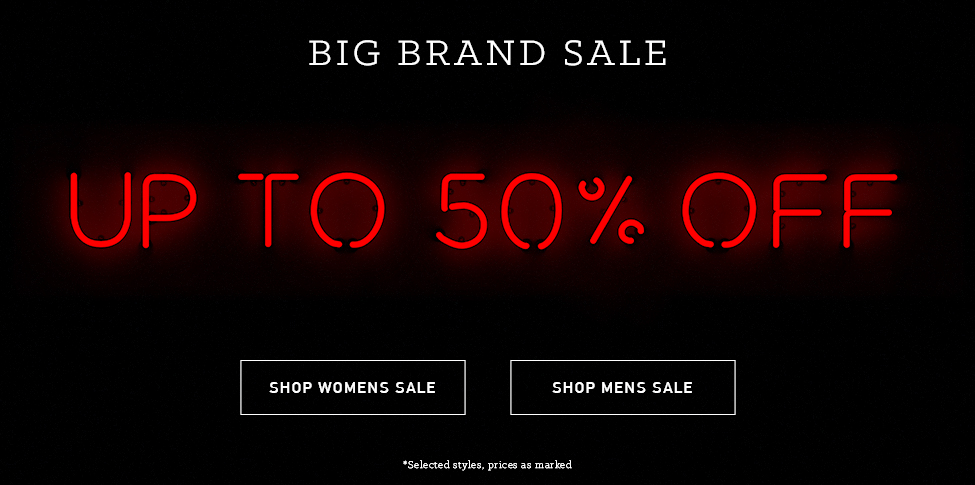 Save up to 50% off big brands sale + free standard delivery Australia-wide on orders over $75 at Glue Store.